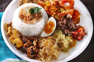 KUliner nasi serpang madura