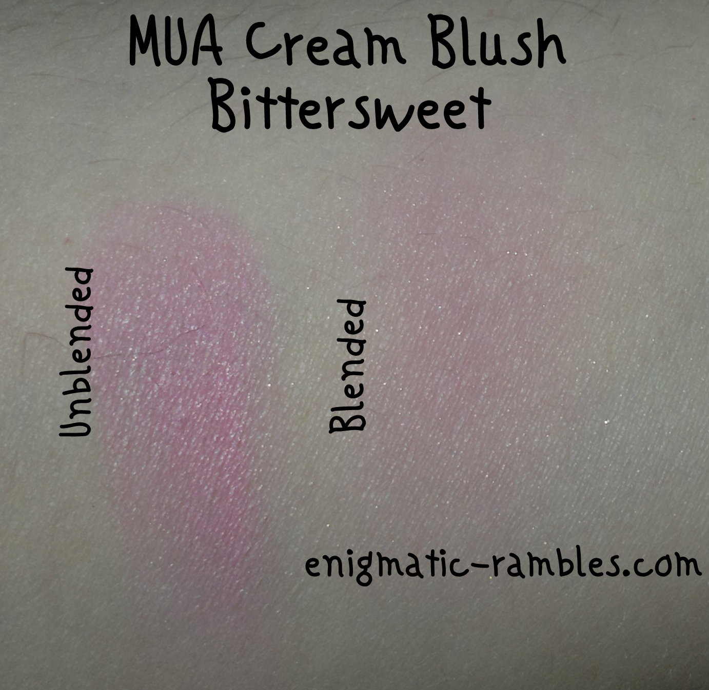 MUA-Make-Up-Academy-Cream-Blush-Bittersweet-review-swatch