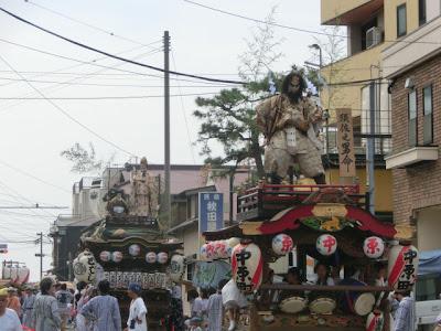 腰越天王祭・人形山車