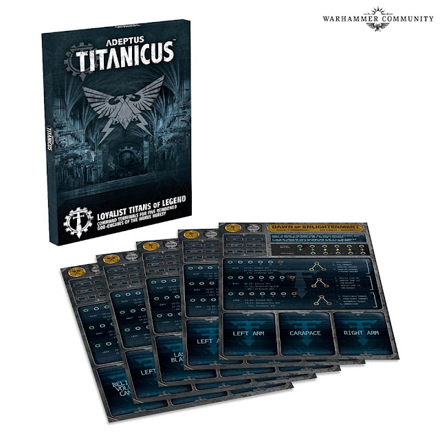 Terminales Titanes de Leyenda Adeptus Titanicus