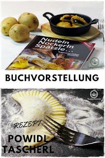 Buchvorstellung: Nudeln, Nockerln, Spätzle ... Teigwaren selbstgemacht! Rezept Powidltascherl #Kochbuch #Nudeln #Powidltascherl #Rezept #Pasta - Gartenblog Topfgartenwelt