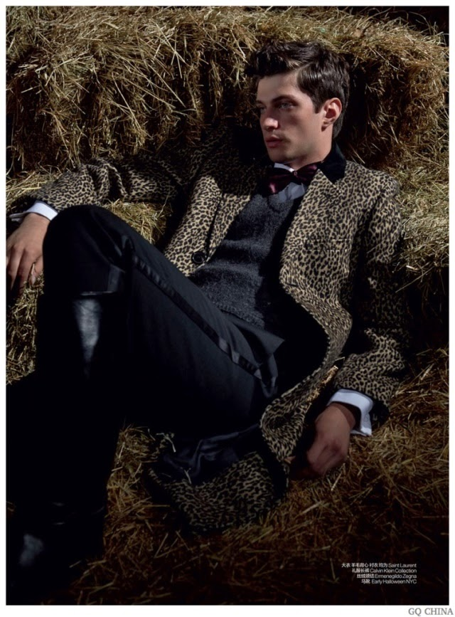 saint laurent, calvin klein, ermenegildo zegna, matthew bell, gq china, editorial de moda, fashion, models