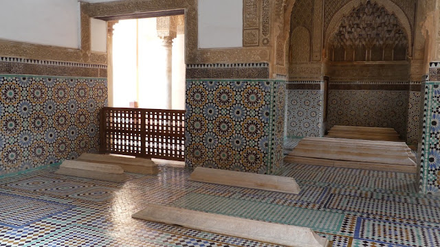 Marrakesch - Saadier-Gräber