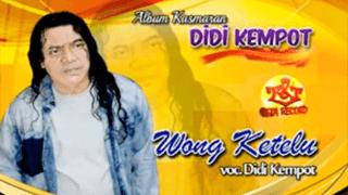 Lirik Lagu Wong Ketelu - Didi Kempot
