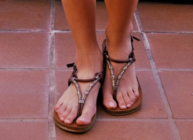 Sara Pericacho - ethnics sandals