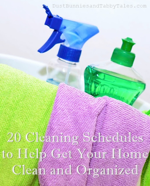 20 Cleaning Schedules for Your Home