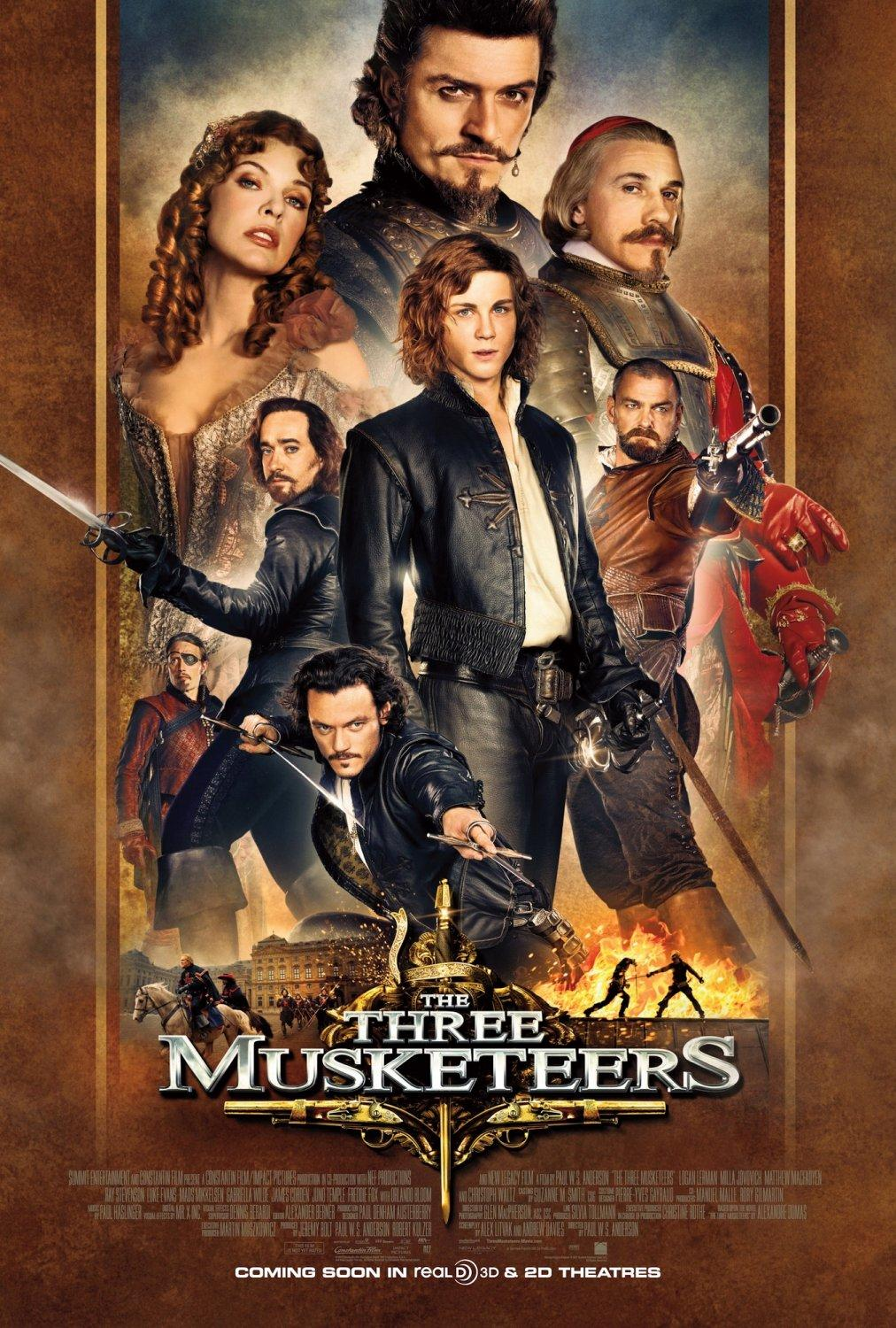 Three musketeers review