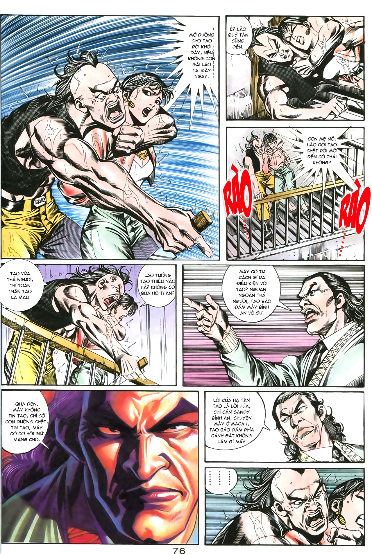 Người Trong Giang Hồ chapter 176: lật thua thành thắng trang 14