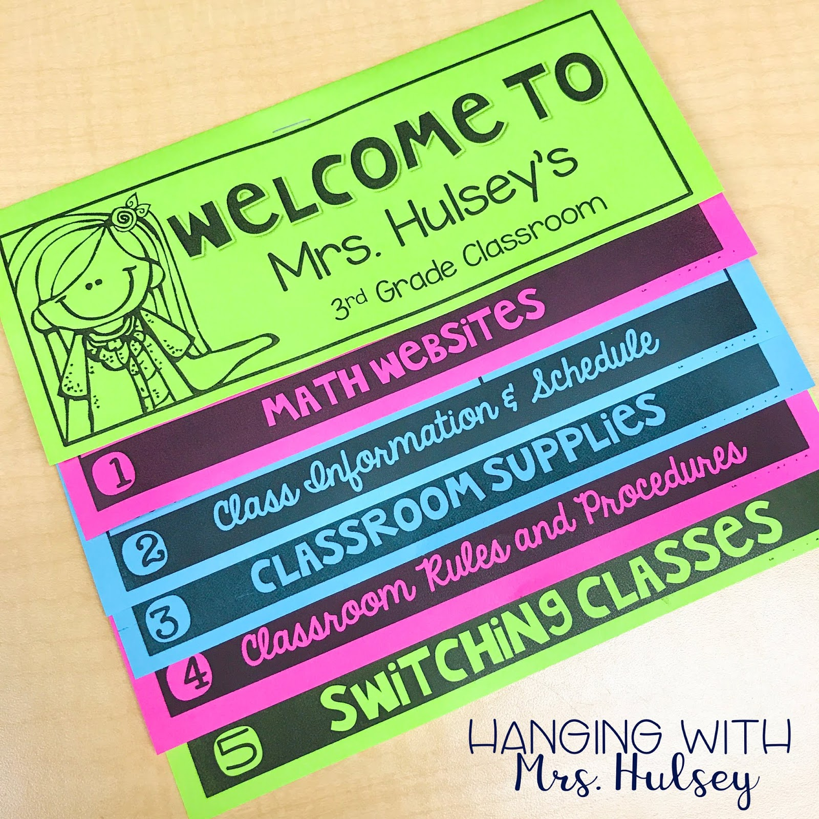 Meet the Teacher Night (Made Easy) - Hanging with Mrs  Hulsey