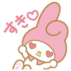 My Melody Pop-Up Stickers
