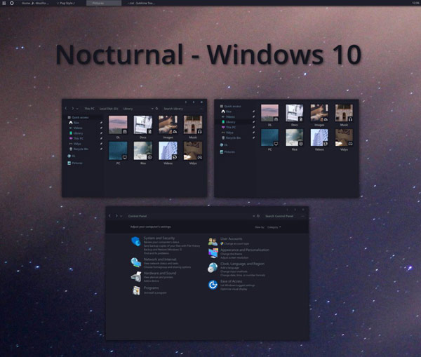 5 Dark Themes for Windows 10 You Must Have Today - Tech Talk