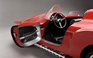 Hermoso auto prototipo en 3D.