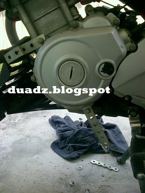 Panduan Mudah Pasang Sampan Transformers FZ150i 2008
