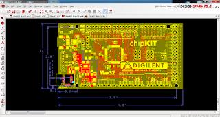 Screenshot 5 : DesignSpark PCB 3D Software PCB | Software Elektronika