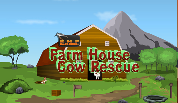 KnfGames Farm House Cow Rescue Walkthrough