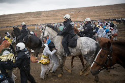 GERMANY PHOTOS Police charge into earth defenders shutting down coal, as COP23 prepared to begin.
