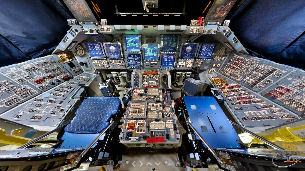 space shuttle discovery cockpit - photo #19