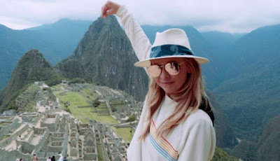 Sarah Michelle Gellar Machu Picchu, Machu Picchu Hollywood, celebrities Machu Picchu