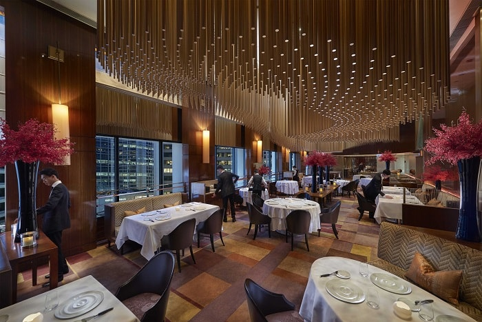 Amber, awarded as The Best Restaurant in China
