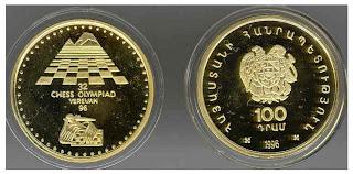 Medallas de la Olimpíada de Ereván-1996
