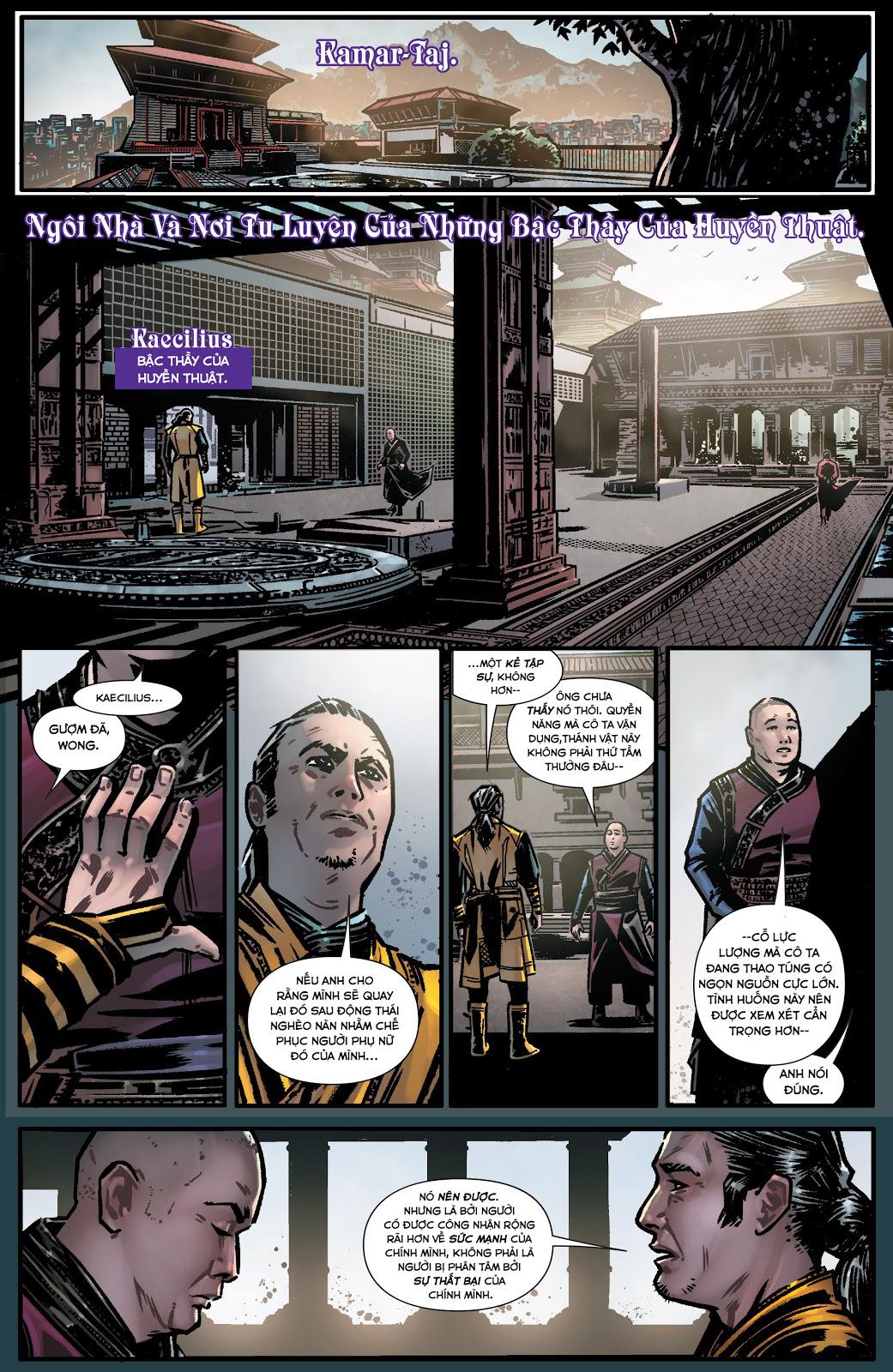 Doctor Strange Prelude kỳ 1 trang 5