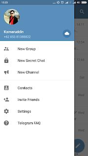 Cara Membuat Grup di Aplikasi Telegram 2