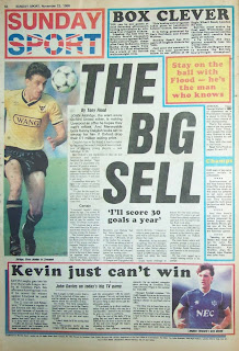 Sunday Sport back page from 23 Nov 1986