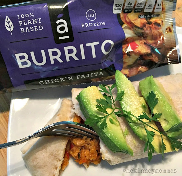 #EverydayBurritos, #AlphaBurritos, avocado, cilantro, moms meet
