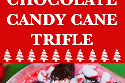 Chocolate Candy Cane Trifle