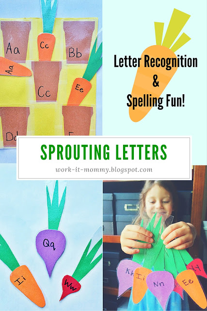 Sprouting letter: DIY letter recognition and spelling fun!
