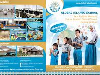 7 Contoh Desain Brosur Sekolah Islam [TK, SD, SMP, dan SMA]