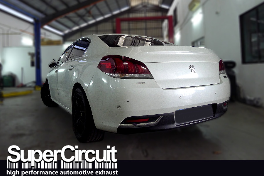 SUPERCIRCUIT Exhaust Pro Shop: Peugeot 508 THP Downpipe