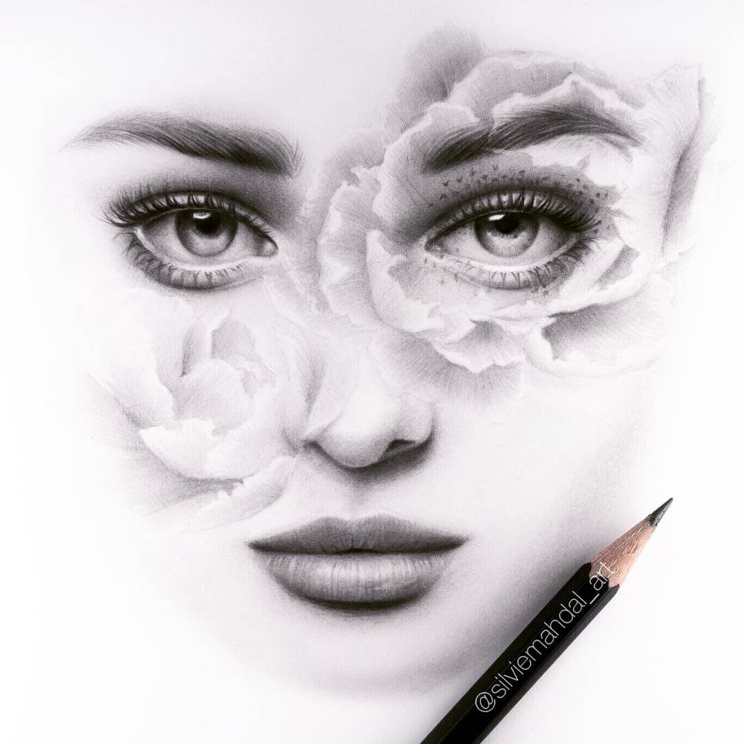 01-Rose-Face-Silvie-Mahdal-Realistic-Anatomical-Detailed-Portraits-www-designstack-co