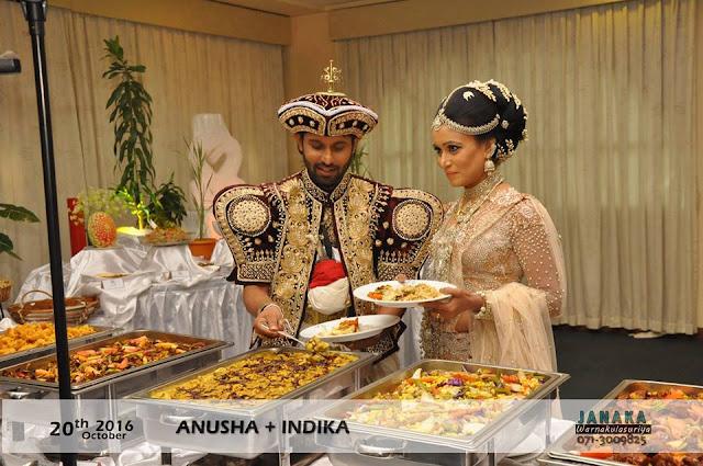 Tele Actor Indika Prasanna Hewawitharane's Wedding