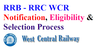 RRB - RRC WCR Recruitment 2017 Eligibility & Apply Online