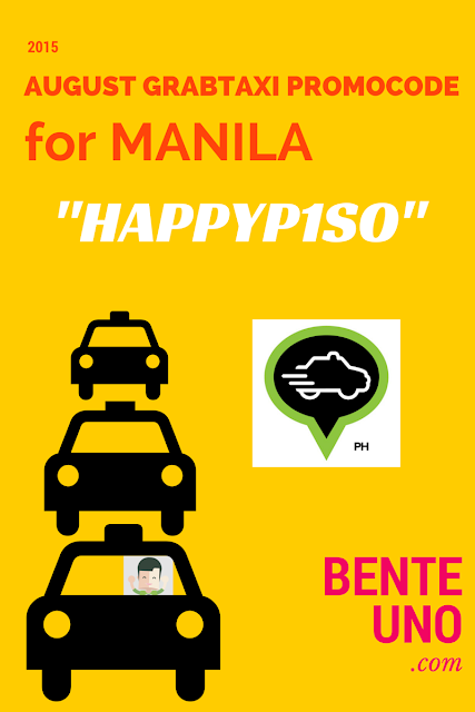 HAPPYPISO New GrabTaxi Promo Code for August 2015| Benteuno.com