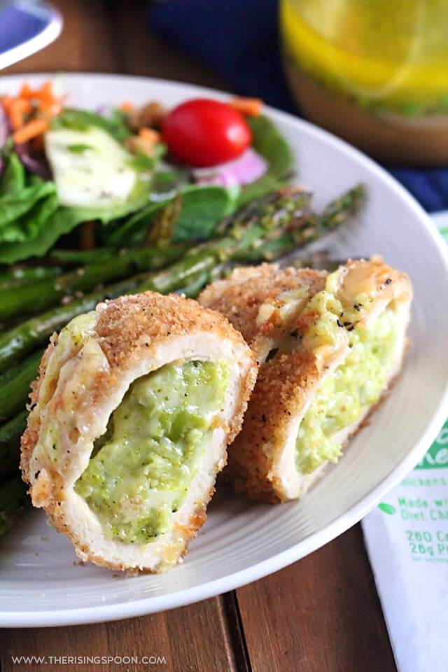 Barber Foods Signature Recipe Broccoli Cheese Stuffed Chicken Breasts