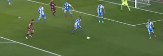 هدف برشلونة فى مرمى  ديبورتيفو لاكورونيا
