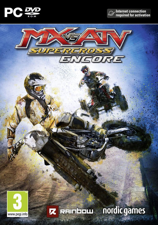 MX VS ATV Supercross Download Cover Free Game
