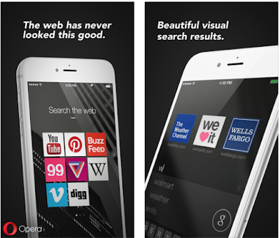 Opera Coast Web Browser is a completely new way to browse the web on iPhone, iPad and iPod Touch.
