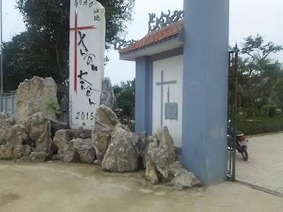 ベトナム・ゲアンの教会
