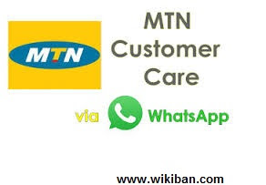 How to chat with MTN care on whatsapp