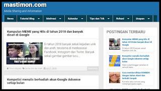 Blog milik mastimon