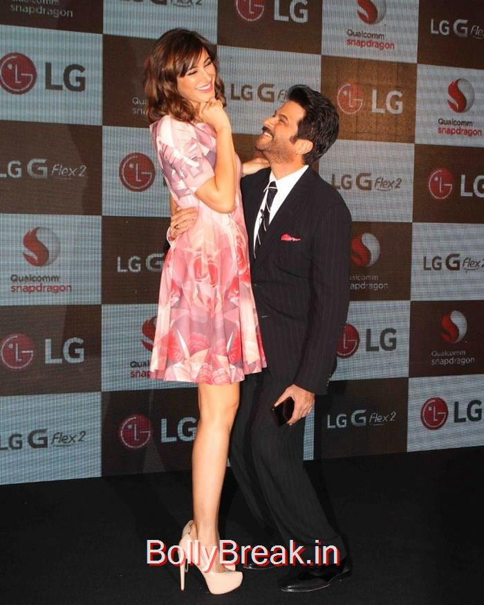 Nargis Fakhri, Anil Kapoor, Hot HD Pics of Nargis Fakhri From Launch Of  LG G Flex 2 photos
