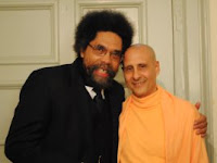 Hare Krishna Guru of cult that degrades blacks embraces famous scholar Cornel West