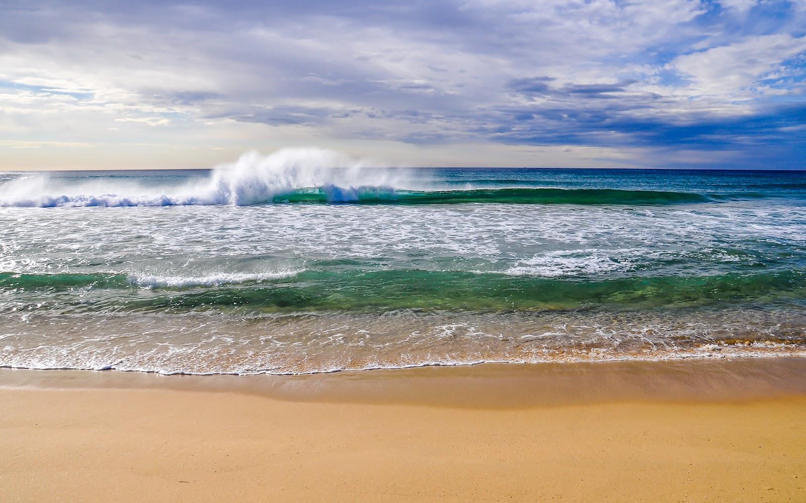 Beach Waves Wallpapers For Desktop Beach Waves: Fondos En HD 2 LLevate Uno :)