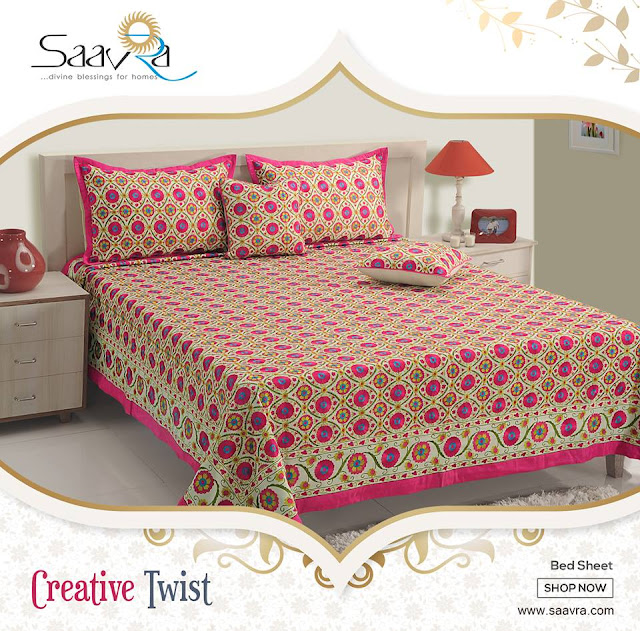 buy double bed sheets online