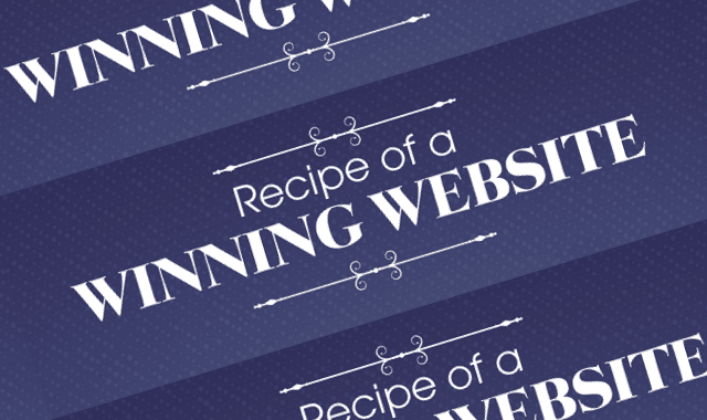 Recipe of a Winning Website