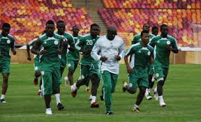 Nigeria super eagles training