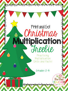 Practice multiplication while celebrating the holidays with this fun and FREE packet!